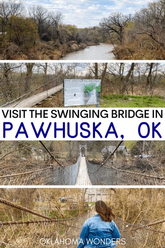 Swinging Bridge Pawhuska