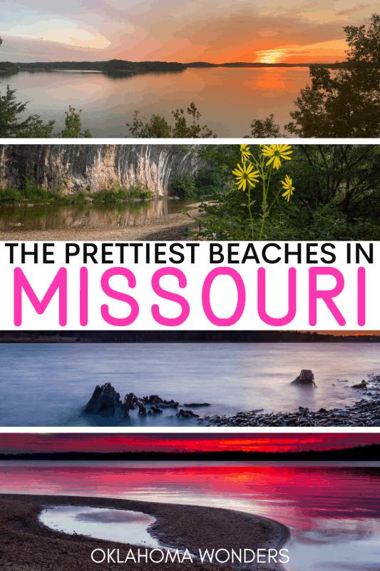 The Best Missouri Beaches and the Best Beaches in Missouri
