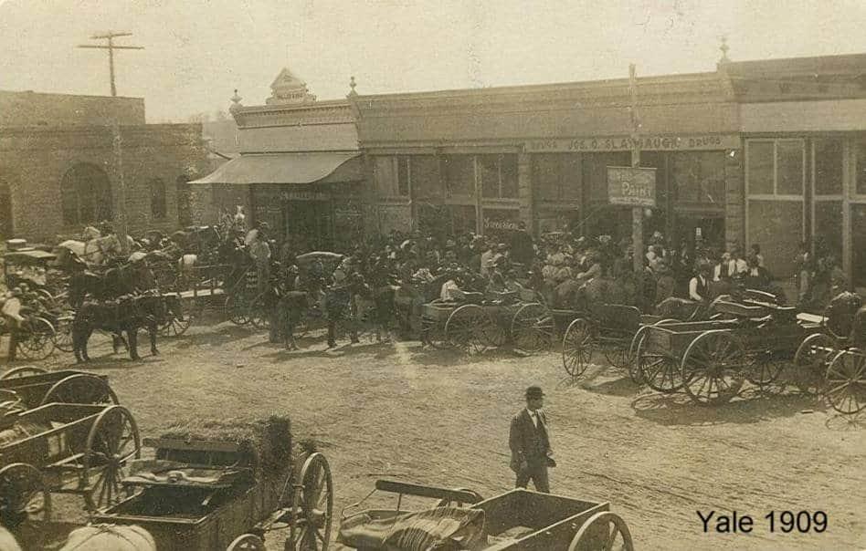 Oklahoma - Main Street - Yale 1909