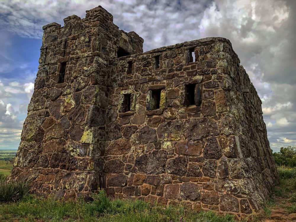 Kansas - Coronado Heights Castle in Kansas