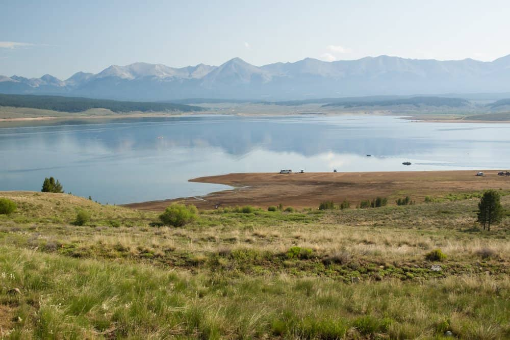 Colorado - The Taylor Park Reservoir is a body of water created by the Taylor Park Dam, which dams the Taylor River of Colorado, United States.
