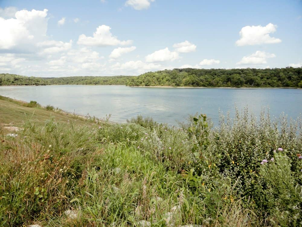 Missouri - Beautiful Lake Landscape at Thousand Hills State Park
