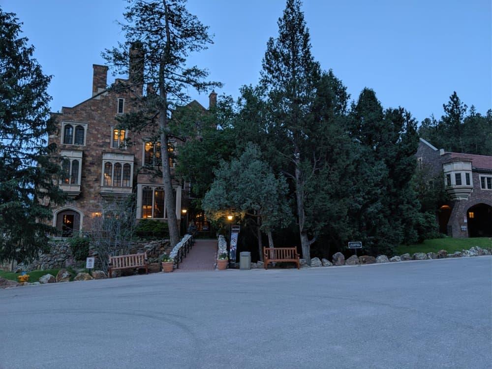 Colorado - Colorado Springs - Glen Eyrie Castle in Colorado Springs