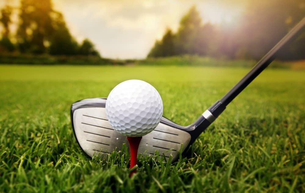 Arkansas - Mountain View - Golf club and ball in grass