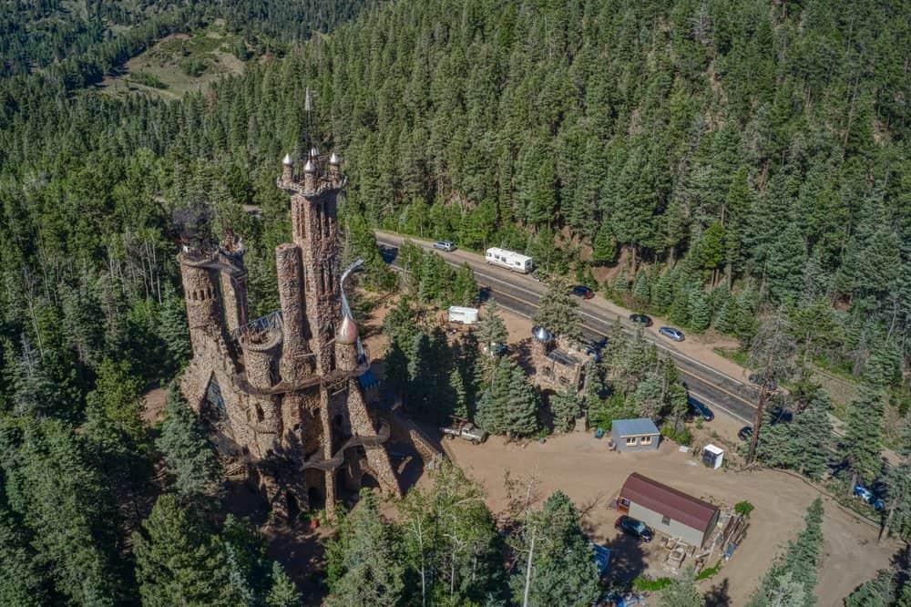 Colorado - Colorado City - Bishop's Castle is a roadside attraction in Colorado
