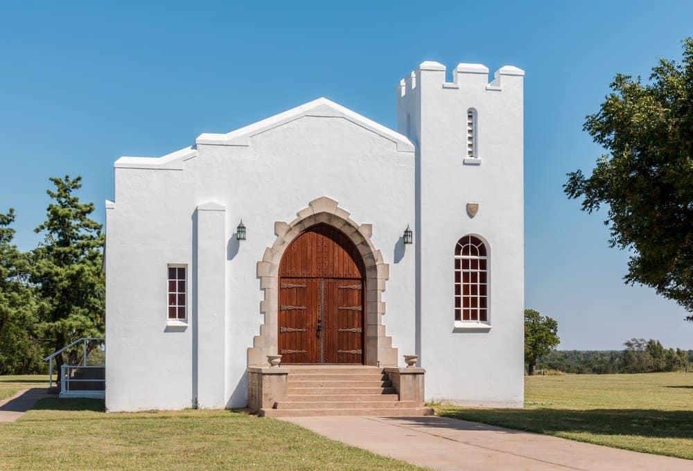 Oklahoma - El Reno - Chapel at Fort Reno in El Reno Oklahoma.