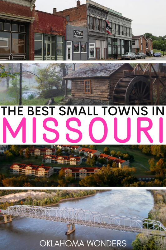 Best Small Towns in Missouri