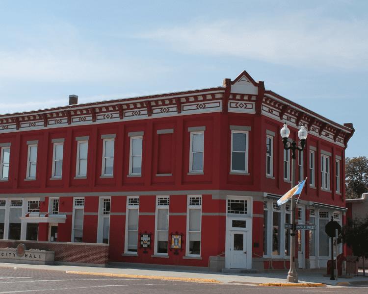 Kansas - Lindsborg - City Hall