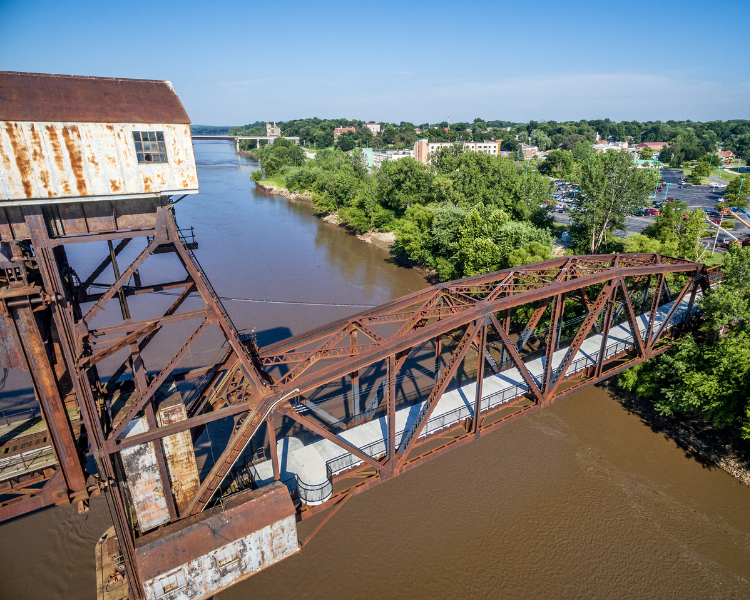 Missouri - Boonville - Katy Railroad Bridge