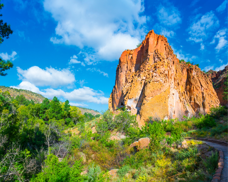 New Mexico - National Parks in New Mexico - Bandelier National Monument