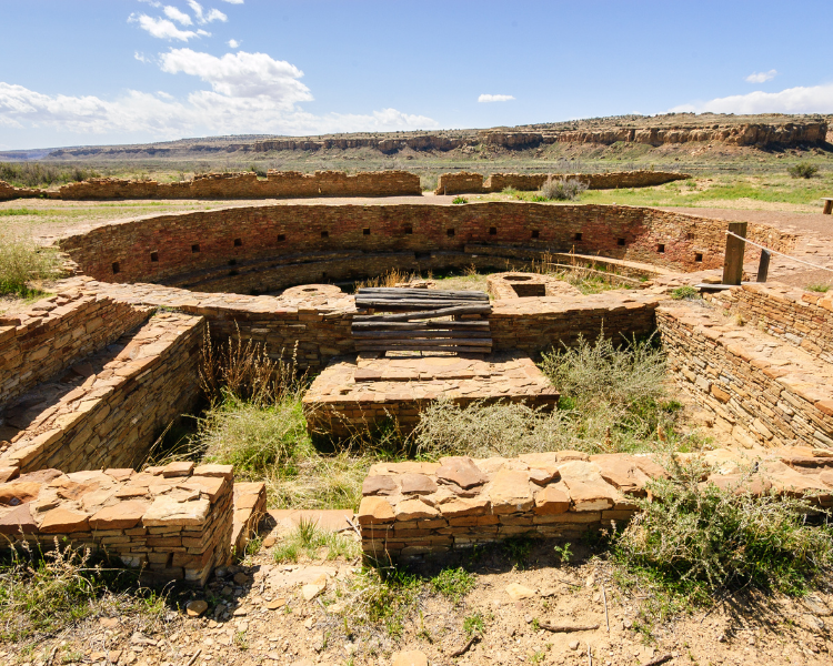 New Mexico - National Parks in New Mexico - Chaco Culture National Historical Park