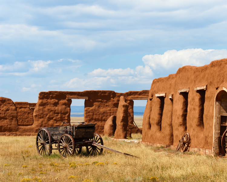 New Mexico - National Parks in New Mexico - Fort Union National Monument