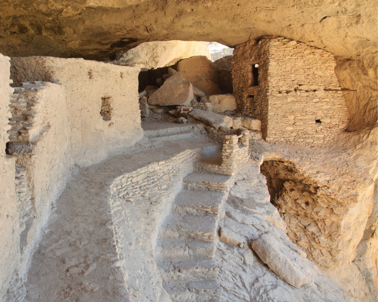 New Mexico - National Parks in New Mexico - Gila Cliff Dwellings National Monument