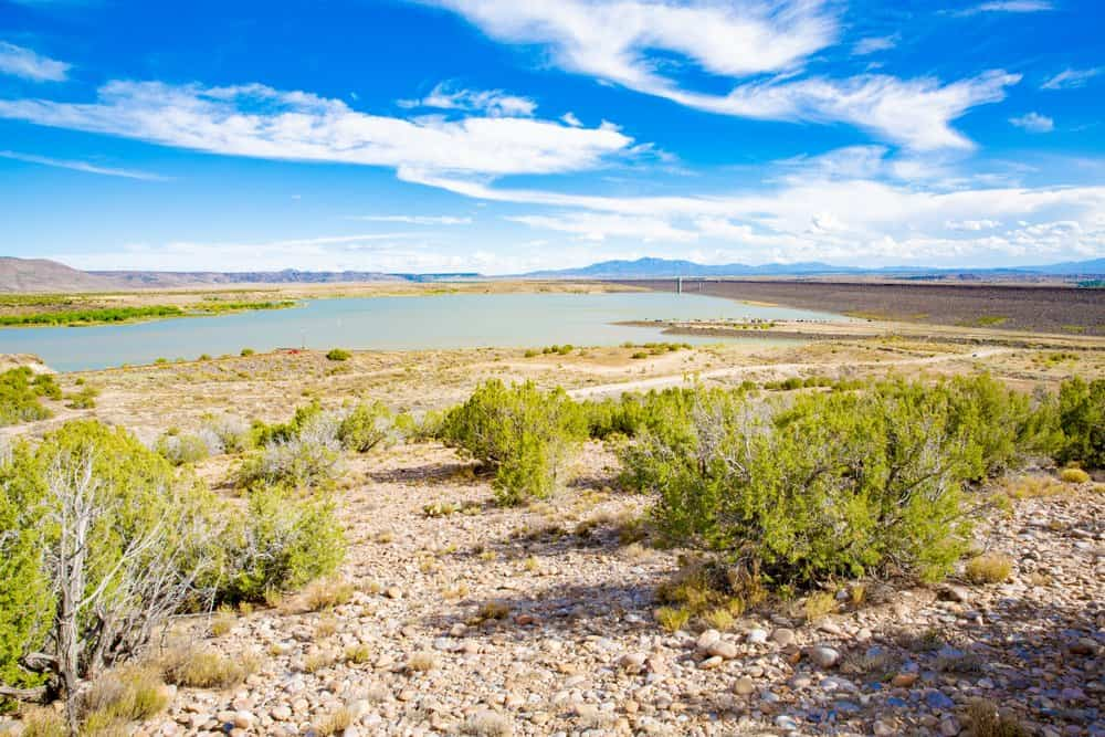 New Mexico - Cochiti Lake Recreation Area in New Mexico, USA