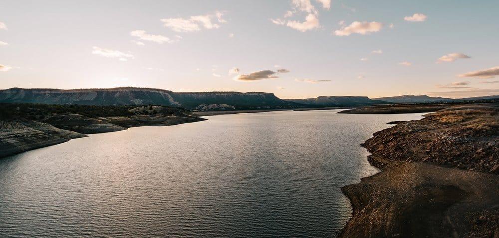 New Mexico - El Vado Lake In Chama Valley Northern New Mexico