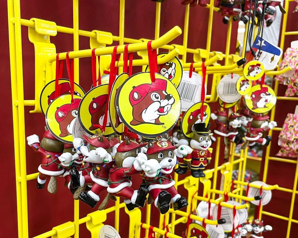 Texas - Temple - Buc-ee's Convenience Store and Gas Station - Buc-ee's Christmas Ornaments