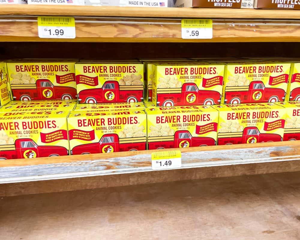 Texas - Temple - Buc-ee's Snacks - Beaver Buddies Animal Cookies