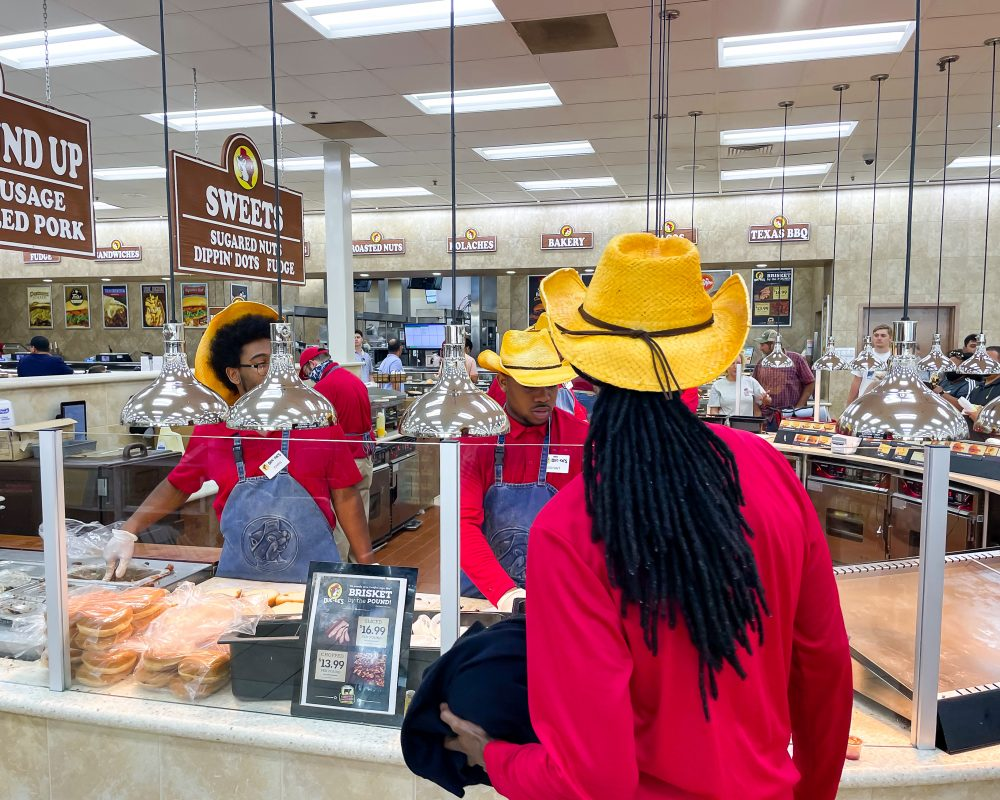 Texas - Temple - Buc-ee's Convenience Store and Gas Station - Buc-ee's BBQ Station