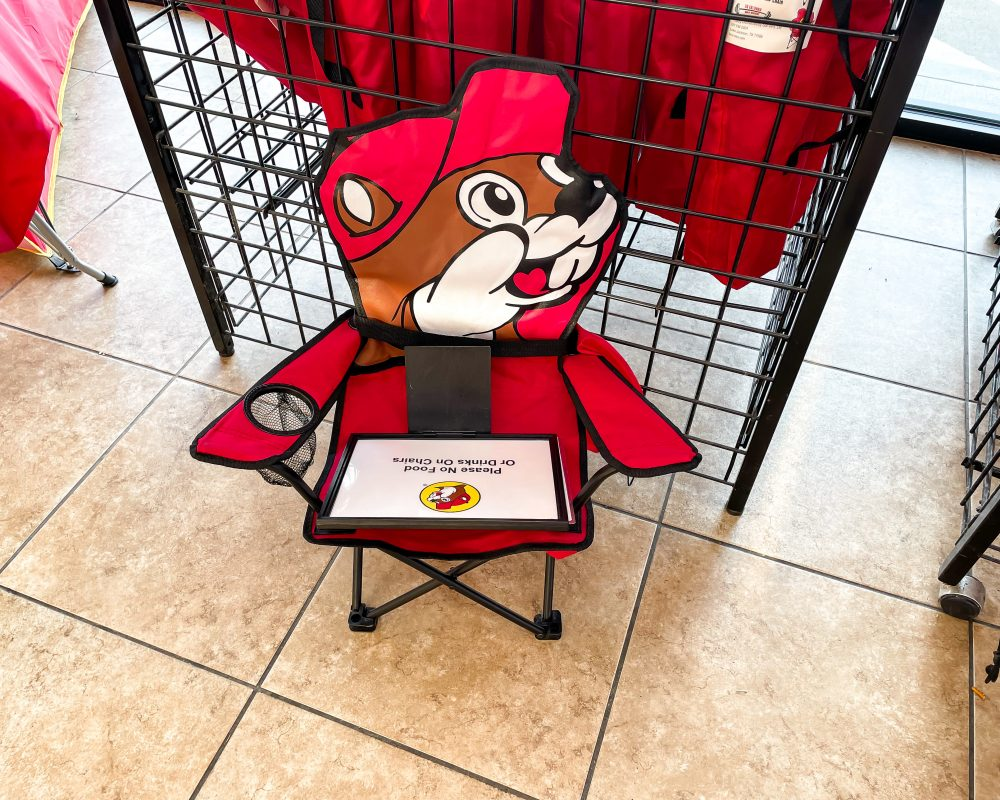 Texas - Temple - Buc-ee's Convenience Store and Gas Station - Child's Camping Chair