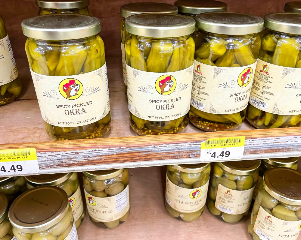 Texas - Temple - Buc-ee's Convenience Store and Gas Station - Buc-ee's Food - Spicy Pickled Okra