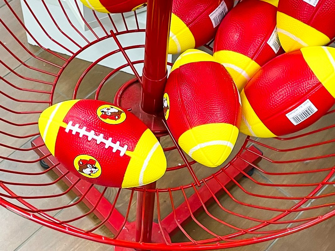 Texas - Temple - Buc-ee's Convenience Store and Gas Station - Buc-ee's Kids Football