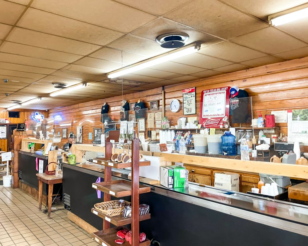 Texas - Luling - Downtown Luling - Original City Market BBQ - Front Counter