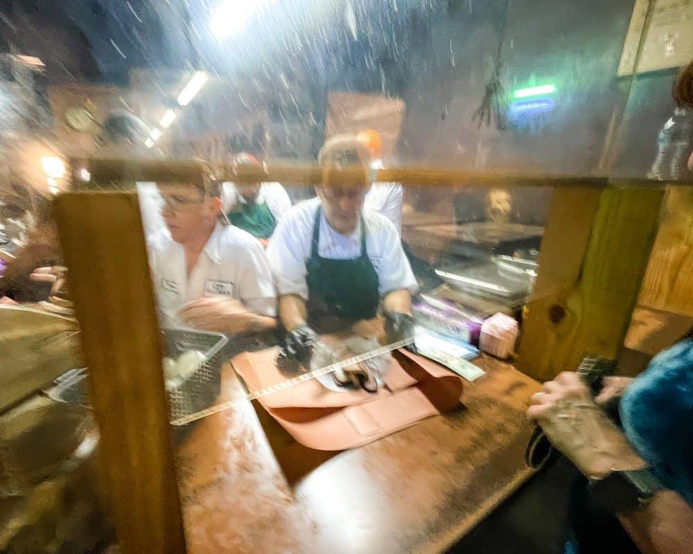 Texas - Luling - Downtown Luling - Original City Market BBQ - Brisket