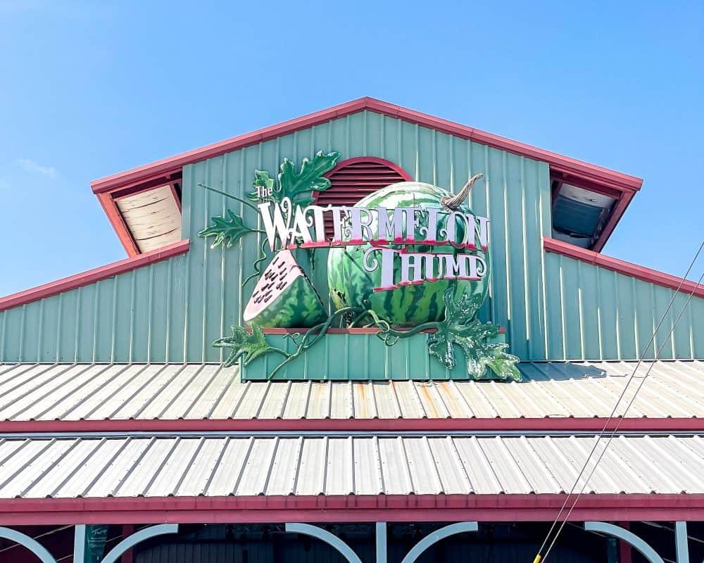 Texas - Luling - Watermelon Thump - Giant Watermelon
