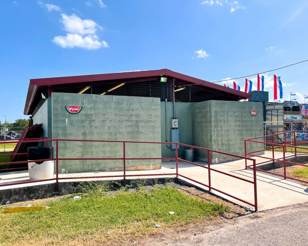 Texas - Luling - Watermelon Thump - Public Restrooms - Bathrooms