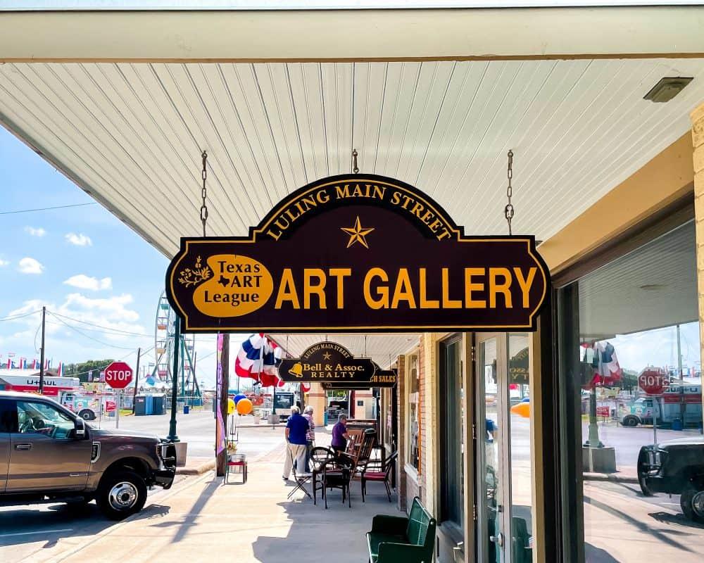 Texas - Luling - Texas Art League Art Gallery