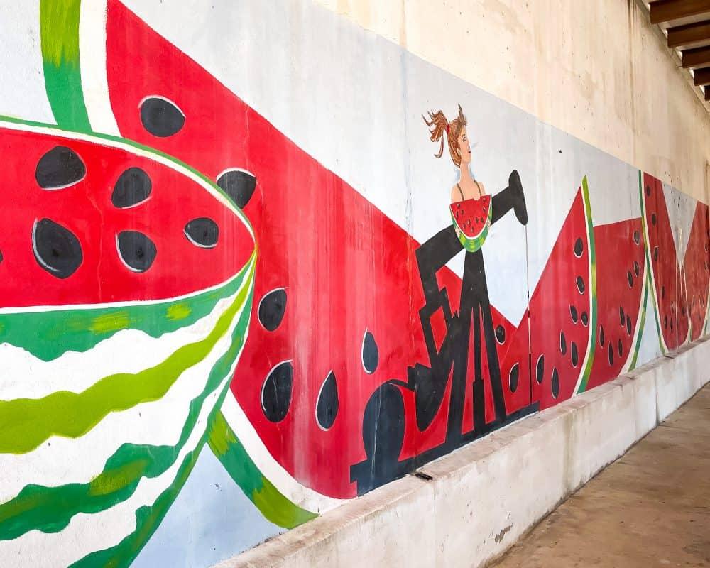Texas - Luling - Watermelon Mural