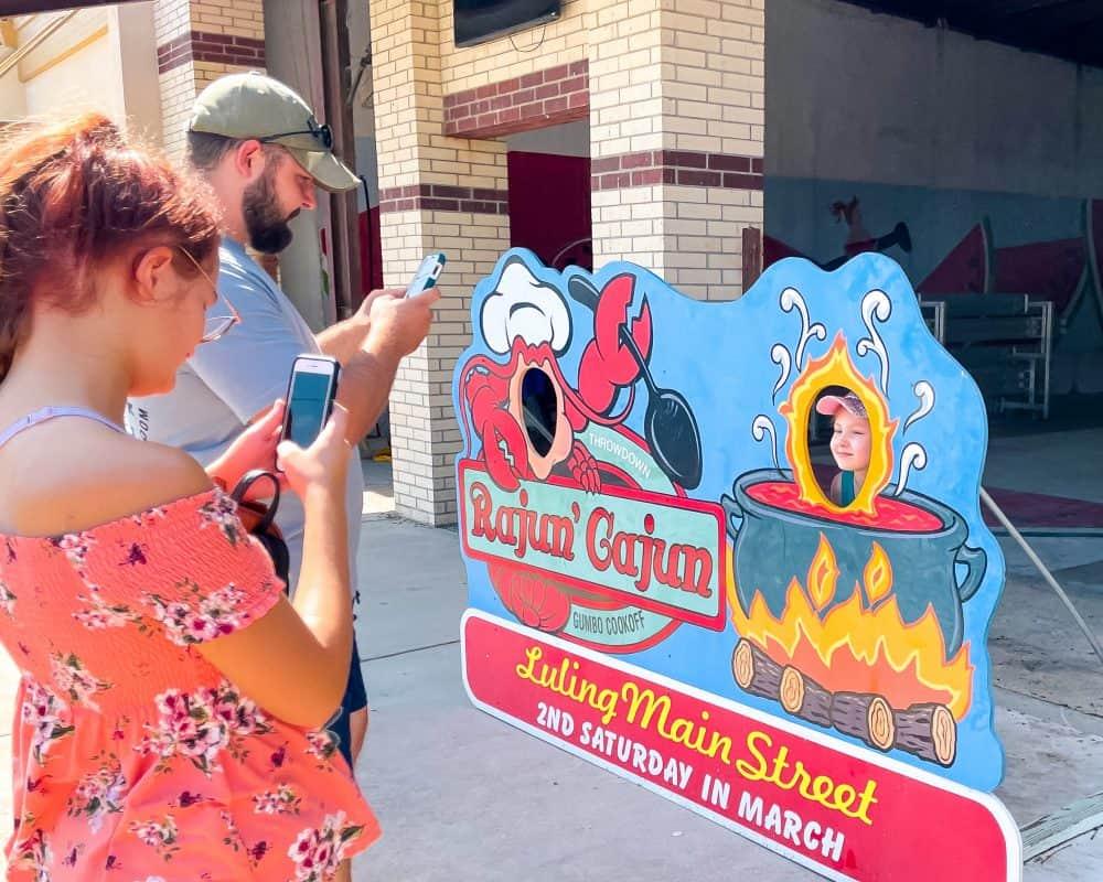 Texas - Luling - Rajun' Cajun Gumbo Cookoff