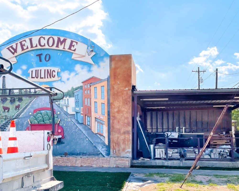 Texas - Luling - Luling Mural