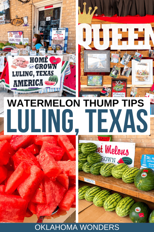 17 Things to Do at the Luling Watermelon Thump & Tips for Visiting!