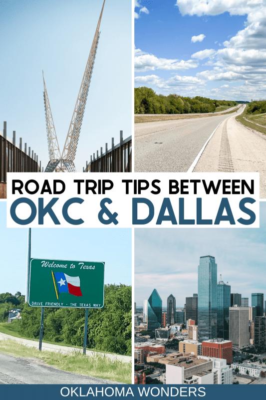 Driving OKC to Dallas - Oklahoma City to Dallas Road Trip - Things to Do Between Oklahoma City and Dallas Texas