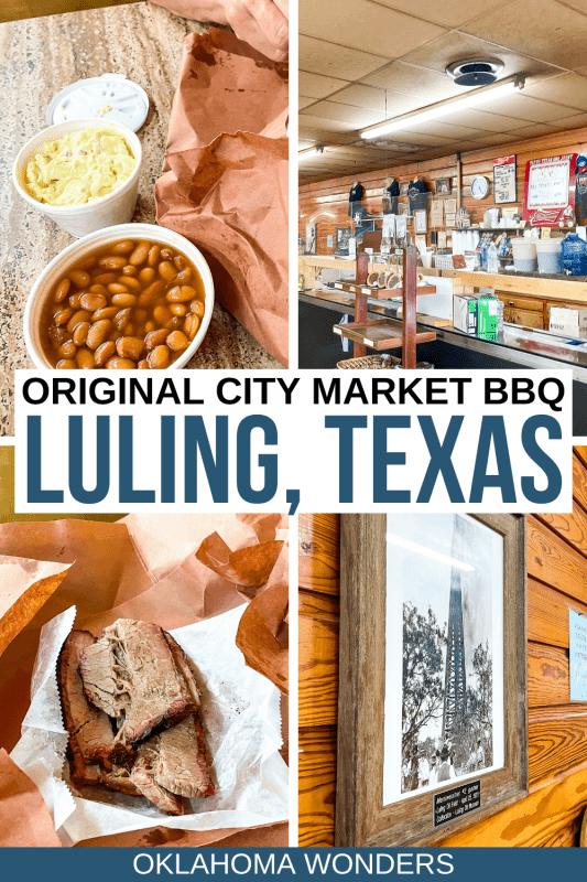 Original City Market BBQ Luling Texas Review