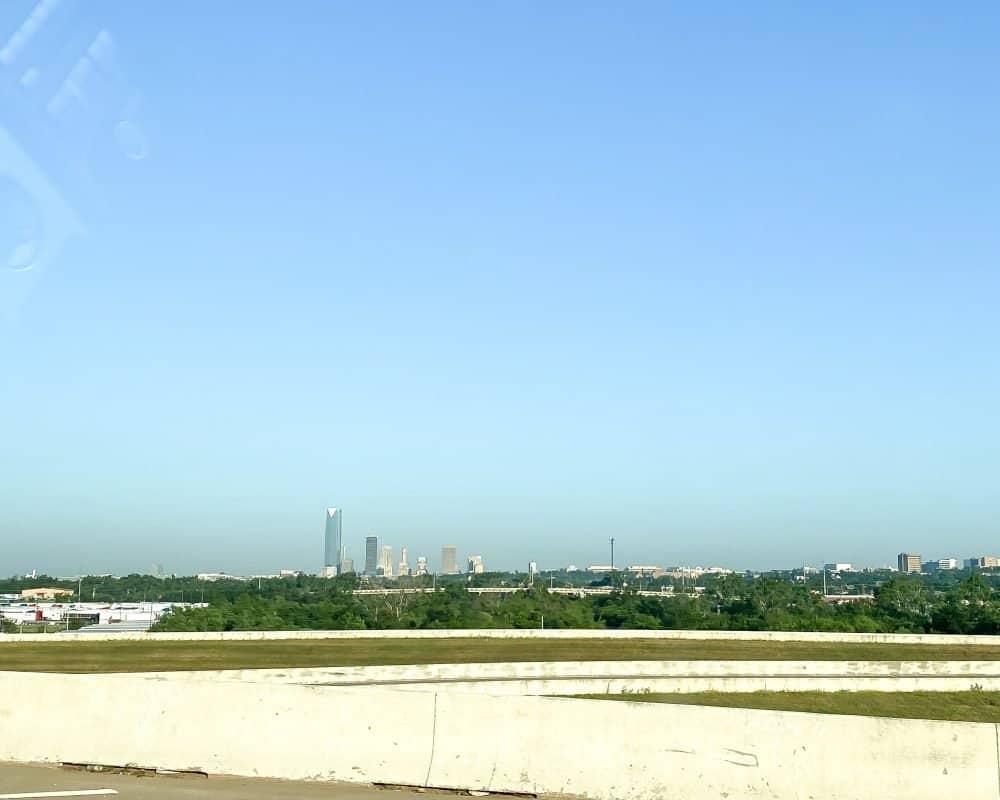 Oklahoma - Oklahoma City - Driving from OKC to Dallas to Corpus Christi
