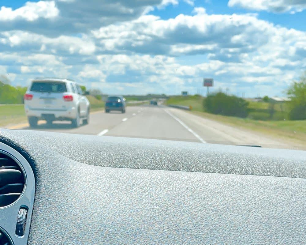 Oklahoma - Davis - Driving I35 S