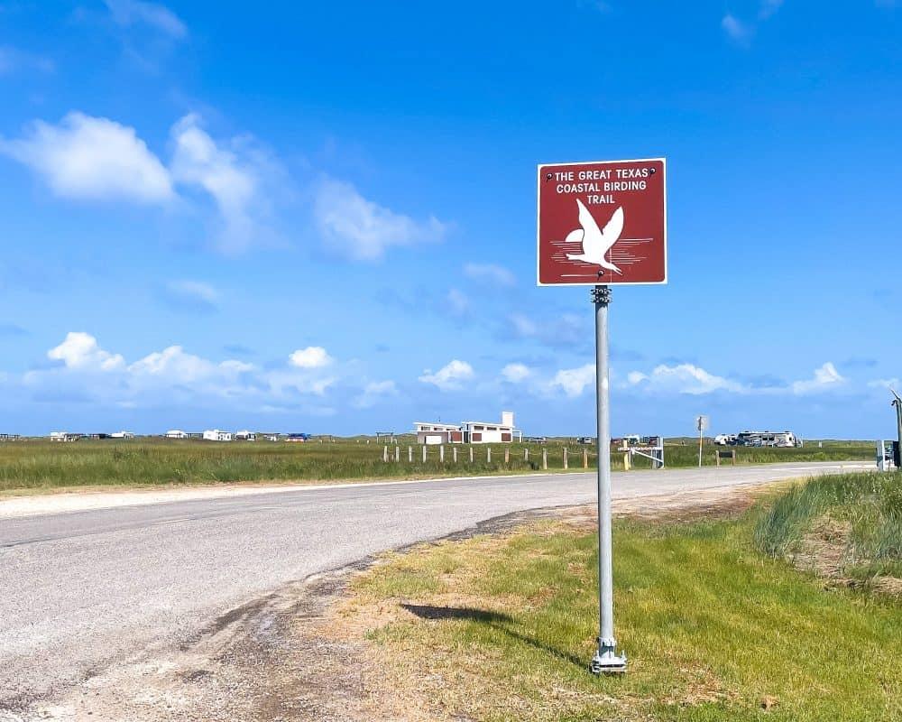 Texas - Corpus Christi - Mustang Island State Park - The Great Texas Coastal Birding Trail