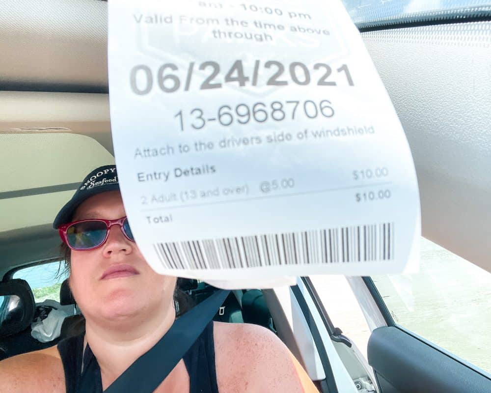 Texas - Corpus Christi - Mustang Island State Park - Day Pass for Day Use