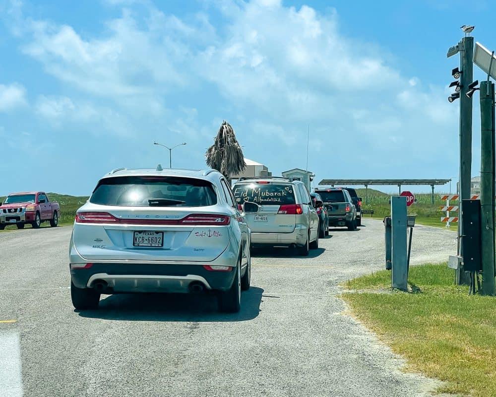 Texas - Corpus Christi - Mustang Island State Park - Entrance