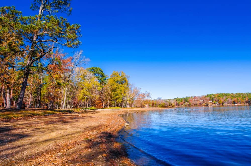 Lake,Catherine,State,Park,In,Arkansas,State,Of,Us.