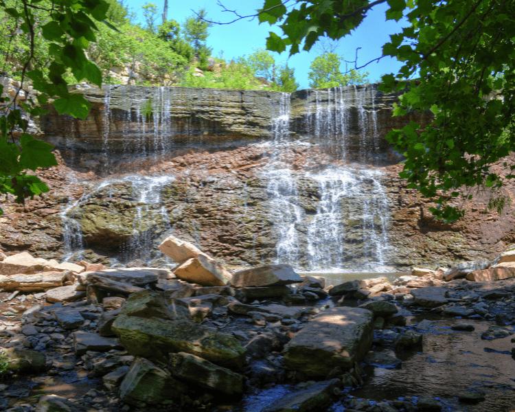 Best Waterfalls in Kansas