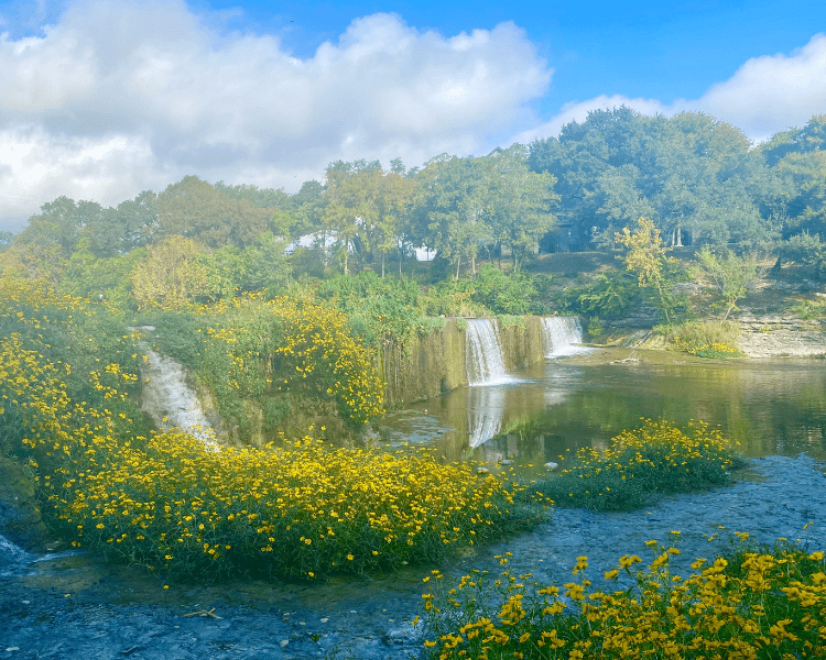 Waterfalls in Texas